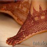 красивое мехенди на ноге - варианты временной тату хной от 05082016 2112 tatufoto.ru