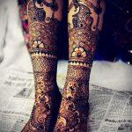 красивое мехенди на ноге - варианты временной тату хной от 05082016 3113 tatufoto.ru
