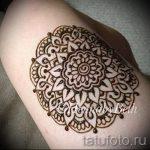 мехенди мандала на ноге - варианты временной тату хной от 05082016 2124 tatufoto.ru