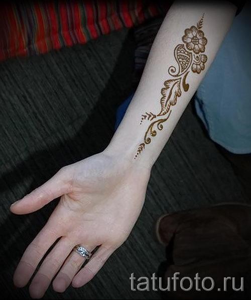 Татуировки на тыльной стороне руки