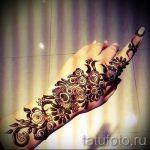 мехенди на левой руке фото - фото временной тату хной 2230 tatufoto.ru