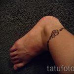 мехенди на ноге браслет - варианты временной тату хной от 05082016 2133 tatufoto.ru