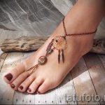 мехенди на ноге ловец снов - варианты временной тату хной от 05082016 8147 tatufoto.ru