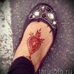 мехенди на ноге маленькие - варианты временной тату хной от 05082016 1153 tatufoto.ru