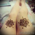 мехенди на ноге на ляжке - варианты временной тату хной от 05082016 5167 tatufoto.ru