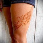 мехенди на ноге подвязка - варианты временной тату хной от 05082016 14182 tatufoto.ru