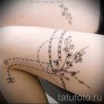 мехенди на ноге подвязка - варианты временной тату хной от 05082016 15183 tatufoto.ru