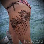 мехенди на ноге подвязка - варианты временной тату хной от 05082016 2170 tatufoto.ru