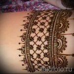 мехенди на ноге подвязка - варианты временной тату хной от 05082016 4172 tatufoto.ru