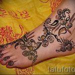 мехенди на ноге цветы - варианты временной тату хной от 05082016 10198 tatufoto.ru