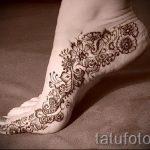 мехенди на ноге эскизы - варианты временной тату хной от 05082016 1204 tatufoto.ru
