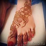 мехенди на ноге эскизы - варианты временной тату хной от 05082016 3206 tatufoto.ru