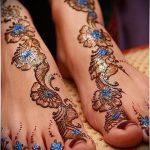 мехенди на ноге эскизы - варианты временной тату хной от 05082016 7210 tatufoto.ru