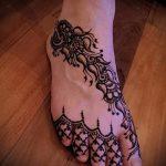 мехенди на ноге эскизы - варианты временной тату хной от 05082016 9212 tatufoto.ru