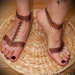 мехенди на ноге эскизы для начинающих - варианты временной тату хной от 05082016 2215 tatufoto.ru