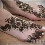 мехенди на пальцах ног - варианты временной тату хной от 05082016 11228 tatufoto.ru