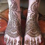 мехенди на пальцах ног - варианты временной тату хной от 05082016 1218 tatufoto.ru