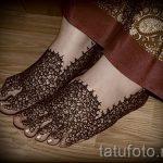 мехенди на пальцах ног - варианты временной тату хной от 05082016 12229 tatufoto.ru