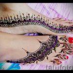 мехенди на пальцах ног - варианты временной тату хной от 05082016 123231 tatufoto.ru