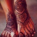мехенди на пальцах ног - варианты временной тату хной от 05082016 4221 tatufoto.ru