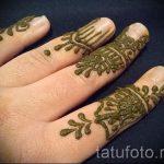 мехенди на пальцах рук - фото временной тату хной 11242 tatufoto.ru