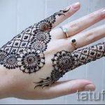 мехенди на пальцах рук - фото временной тату хной 9240 tatufoto.ru