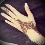мехенди на руке браслет - фото временной тату хной 15268 tatufoto.ru