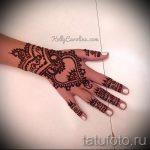 мехенди на руке браслет - фото временной тату хной 6259 tatufoto.ru