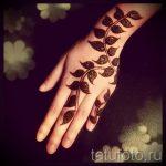 мехенди на руке для детей - фото временной тату хной 12294 tatufoto.ru