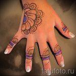 мехенди на руке для детей - фото временной тату хной 3286 tatufoto.ru