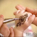 мехенди на руке для мальчиков - фото временной тату хной 2297 tatufoto.ru