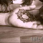 мехенди на руке для мужчин - фото временной тату хной 4303 tatufoto.ru