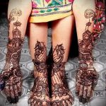 мехенди на руке и ноге - варианты временной тату хной от 05082016 5236 tatufoto.ru