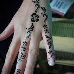 мехенди на руке легкие рисунки для начинающих - фото временной тату хной 7346 tatufoto.ru
