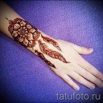 мехенди на руке ловец снов - фото временной тату хной 15361 tatufoto.ru