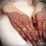 мехенди на руке на свадьбу - фото временной тату хной 5391 tatufoto.ru