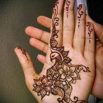 рисунки мехенди на руке - фото временной тату хной 4464 tatufoto.ru