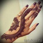 рисунки мехенди на руке - фото временной тату хной 7467 tatufoto.ru