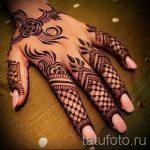 рисунки мехенди на руке - фото временной тату хной 9469 tatufoto.ru