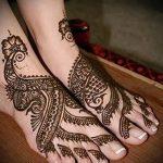 рисунки хной на ноге легкие - варианты временной тату хной от 05082016 4253 tatufoto.ru