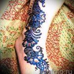 рисунки хной на ноге фото - варианты временной тату хной от 05082016 2257 tatufoto.ru