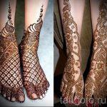 рисунок хной на ноге фото узоры - варианты временной тату хной от 05082016 10272 tatufoto.ru