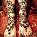 рисунок хной на ноге фото узоры - варианты временной тату хной от 05082016 1264 tatufoto.ru