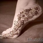 рисунок хной на ноге фото узоры - варианты временной тату хной от 05082016 3266 tatufoto.ru