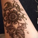 рисунок хной на ноге фото узоры - варианты временной тату хной от 05082016 6269 tatufoto.ru