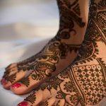 рисунок хной на ноге фото узоры - варианты временной тату хной от 05082016 7270 tatufoto.ru