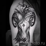 созвездие овна тату - фото готовой татуировки от 02082016 2062 tatufoto.ru
