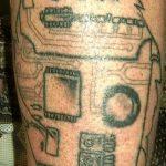 тату вдв на запястье - фото пример татуировки 1188 tatufoto.ru