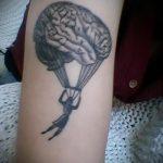 тату вдв на запястье - фото пример татуировки 4191 tatufoto.ru