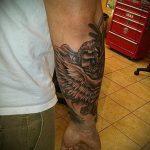 тату вдв на запястье - фото пример татуировки 5192 tatufoto.ru
